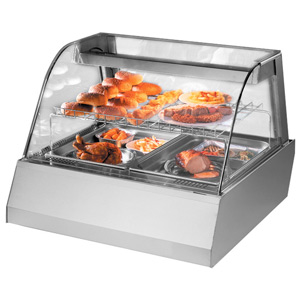 Blizzard Hot Counter Top Display HOT2E