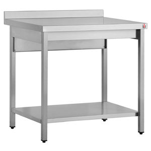 Inomak Stainless Steel Wall Bench TL709U - 900mm