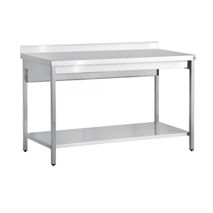 Inomak Stainless Steel Wall Bench TL711U - 1100mm