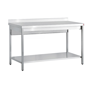 Inomak Stainless Steel Wall Bench TL714U - 1400mm