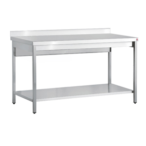 Inomak Stainless Steel Wall Bench TL716U - 1600mm