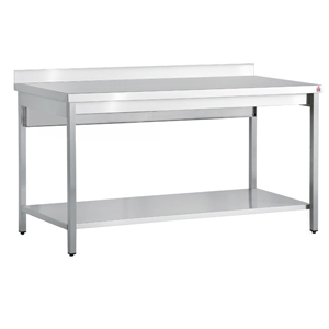 Inomak Stainless Steel Wall Bench TL719U - 1900mm