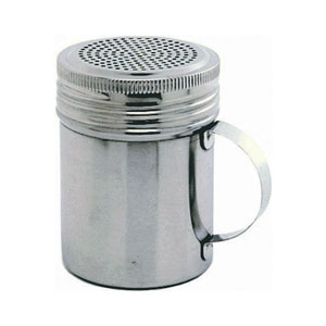 Stainless Steel Screw Top Shaker