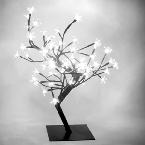 White LED Bonsai Tree