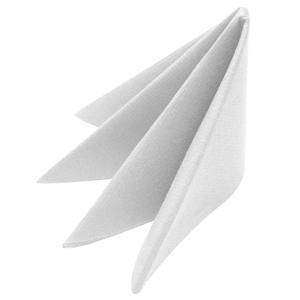 Swansoft White Napkins 40cm