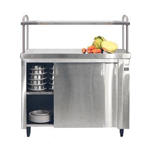 Inomak Heated Cupboard with Single Gantry HCP11 - 1100mm