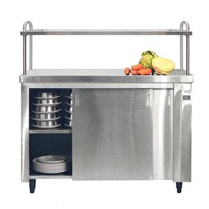 Inomak Heated Cupboard with Single Gantry HCP14 - 1400mm