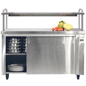 Inomak Heated Cupboard with Single Gantry & Quartz Heated Box HCP19 - 1900mm