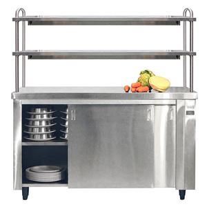 Inomak Heated Cupboard with Double Gantry & Quartz Heated Box HCP19 - 1900mm