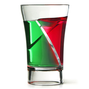 Econ Siptail Twister Shot Glasses 1oz / 30ml