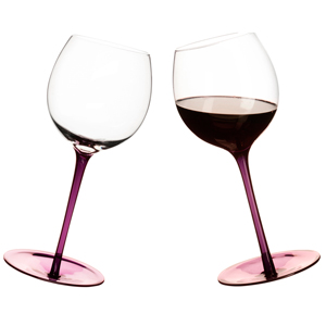 Rocking Wine Glasses Purple 19.4oz / 550ml