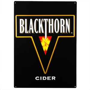 Blackthorn Cider Metal Sign