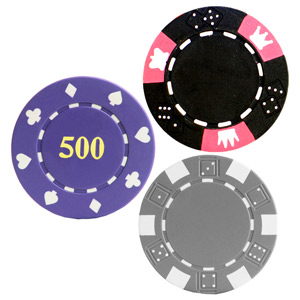 Poker Chips Sample Pack - Try before you buy!
