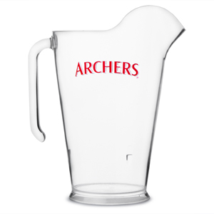 Plastic Stacking Archers Jug 60oz / 1.7ltr