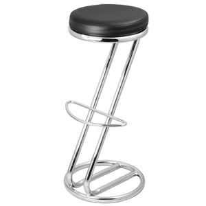 Zed Italian Breakfast Bar Stool Black