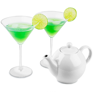 Teapot Cocktail Set