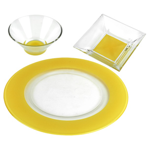 Mix-Up Lemon Dinner Set