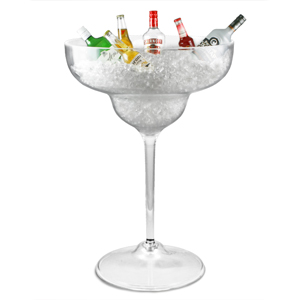 Giant Acrylic Margarita Glass 1230oz / 35ltr