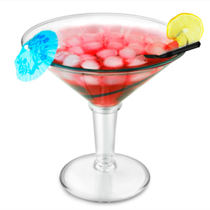 Super Martini Acrylic Glass 48oz / 1.4ltr