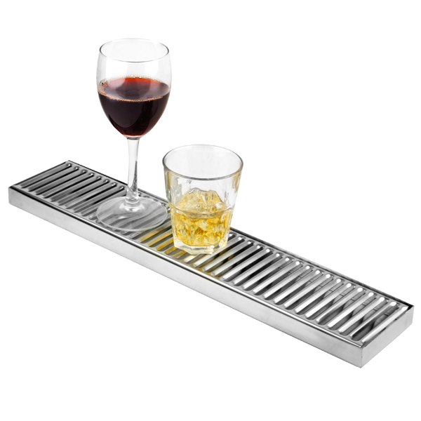 Stainless Steel Long Drip Tray Pub Drip Trays Beer Drip