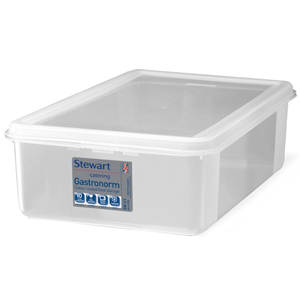 Stewart Gastronorm Food Storers 1/1 Full Size 150mm Deep