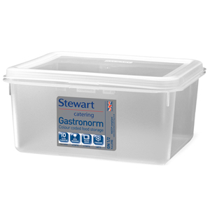 Stewart Gastronorm Food Storer 1/2 Half Size 150mm Deep
