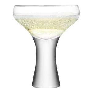 LSA Bodo Champagne Saucers 10.6oz / 300ml