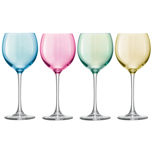 LSA Polka Wine Glasses 14oz / 400ml