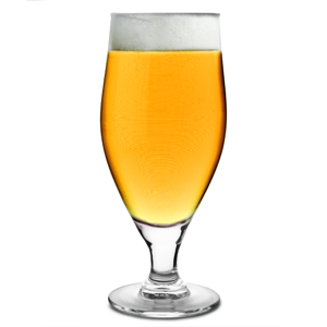Cervoise Stemmed Beer Glasses 9.2oz LCE at 7oz