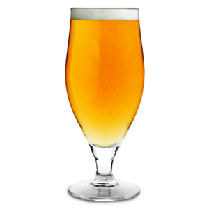 Cervoise Stemmed Beer Glasses 13.4oz LCE at 10oz