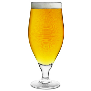 Cervoise Stemmed Beer Glasses 21.8oz LCE at 20oz