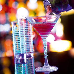 Black Light Cocktail Glasses 7.4oz / 210ml