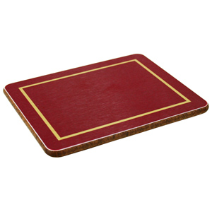 Melamine Coasters Red