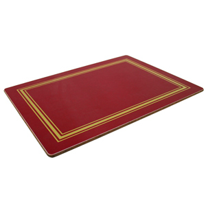 Melamine Placemats Medium Red