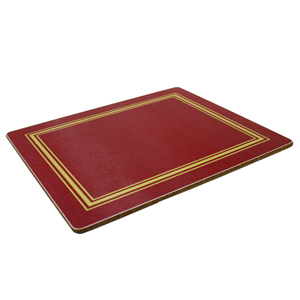 Melamine Tablemats Small Red
