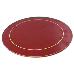 Melamine Round Placemats Red