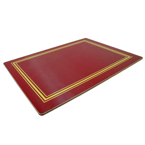 Melamine Continental Placemats Red