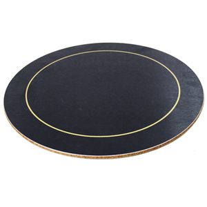 Melamine Round Placemats Blue