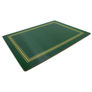 Melamine Continental Placemats Green