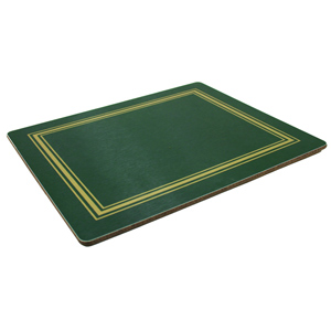 Melamine Tablemats Small Green