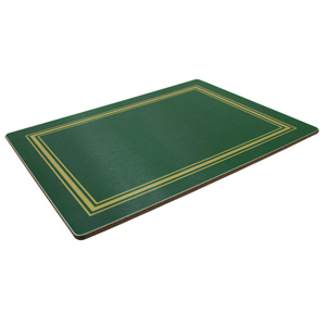 Melamine Placemats Medium Green