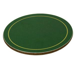 Melamine Round Coasters Green