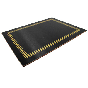 Melamine Continental Placemats Black