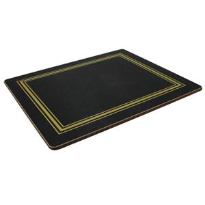 Melamine Tablemats Small Black