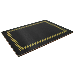 Melamine Placemats Medium Black