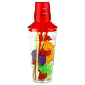 Tropical Fruit Party Cocktail Shaker