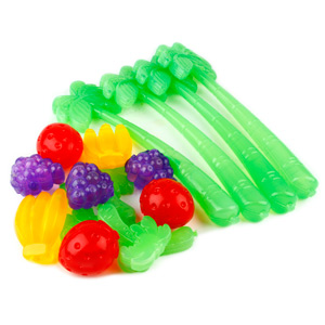 Tropical Fruit Stirrer & Cooler Set