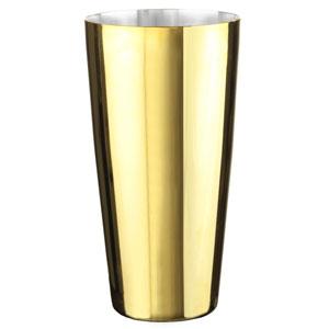 Urban Bar Gold Plated Boston Shaker Tin Only