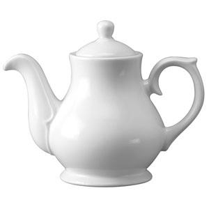Churchill White Sandringham Coffee / Tea Pot PS30 30oz / 85.2cl