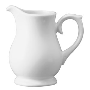 Churchill White Sandringham Jug / Creamer JS50 28cl